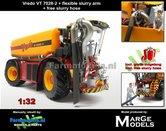 Rebuilt:-Vredo-Trac-VT7028-2-+-RUBBER-ZUIGARMSLANG-+-GRATIS-ZUIGSLANG-1:32--Marge-Models-(MM1801VREDO)