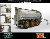 Rebuilt-&-Dirty-Joskin-TRANSPORT-TANK-24000-ZILVER-+-extra-lostrechter-STOF--&-MESTLOOK--1:32-RS602052-RD