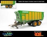 JOS-4250-TANDEM-SL-Joskin-Silospace-Tandem-asser-+-STOFLOOK-(Fertispace-onderstel)-handmatig-verbouwd-1:32-RS602022