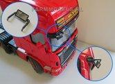 21166-1x-Dode-Hoek-Spiegel-+-Steun-metaal-spiegel-Truck