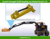 64397-Verleng-Giek-t.b.v.-S6-S60-(Volvo-EWR150E)-koppeling-aan-Maaikorf-bouwkit-nr.-64395--1:32