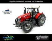 Rebuilt-Massey-Ferguson-7626:-Wide-tires-new-front-fenders-1:32---UH4292-R