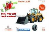 VOL-7060+FG-Volvo-L60H-Shovel-Michelin-banden-+-FREE-GIFT-+-snelwissel-+-bak-1:32-(foto-1:1)-verwacht-2018