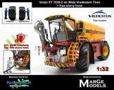 Rebuilt:-Vredo-Trac-VT7028-2-op-VREDESTEIN-Banden-1:32-Marge-Models-+-Gratis-zuigslang--(MM1801VREDO)
