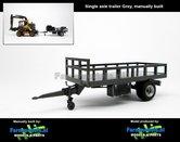 Rebuilt:-Bakkenwagen-GRIJS-enkelasser-geschikt-voor-div.-mobiele-kranen-&-shovels-1:32