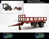 Rebuilt-&-Dirty:-Bakkenwagen-ROOD-enkelasser-+-Stoflook-geschikt-voor-div.-mobiele-kranen-&-shovels-1:32