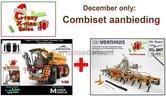 COMBISET-Vredo-Trac-VT7028-2-op-VREDESTEIN-Banden-+-VMR-Veenhuis-Terraject-300-Bouwlandbemester-met-verkruimelrol