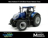 Rebuilt-New-Holland-T7.315-Blue-Power-op-NOKIAN--GAZON-banden-1:32---LAST-ONES