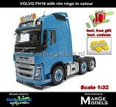 Rebuilt-BLUE-3-Axle-Volvo-FH16-+-VELGPLAAT-BLAUW-incl.-gratis-set-Wielkeggen-1:32-MM1811-04-R