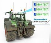 DEIN-TEXT-GRÜN-3x-DE-GRÜN-Kennzeichenaufkleber-Pré-Cut-Decals-mit-Ihrem-angegebenen-Text-1:32-Farmmodels.nl