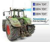 DEIN-TEXT--3x-DE-Kennzeichenaufkleber-Pré-Cut-Decals-mit-Ihrem-angegebenen-Text-1:32-Farmmodels.nl-2