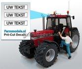 UW-TEKST--3x-WITTE-Kentekenplaatsticker-ZWARTE-LETTERS-Pré-Cut-Decals-met-uw-opgegeven-tekst-1:32-Farmmodels.nl