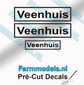 3x-Veenhuis-Zwart-op-Transparant-5.2mm-&-3.3mm-hoog-Pré-Cut-Decals-1:32-Farmmodels.nl