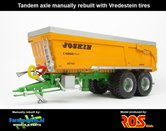 Rebuilt-Tandem-Joskin-Cargo-BC150-7500-25-op-Vredestein-banden-1:32---RS602014-R
