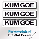KUM-GOE--3x-WITTE-Kentekenplaatsticker-ZWARTE-LETTERS-Pré-Cut-Decals-1:32-Farmmodels.nl