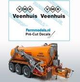 2x-VMR-Veenhuis-16mm-hoog--VMR-logo--Veenhuis-onder-elkaar--zwart-op-Transparant-Pré-Cut-Decals-1:32-Farmmodels.nl