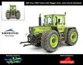 Rebuilt-+-Dirty-MB-Trac-1600-Turbo-op-Vredestein-banden-+-Stoflook-1:32-handmatig-verbouwd-Manually-rebuilt