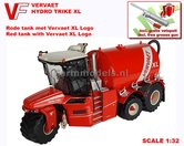 VERVAET-Hydro-Trike-XL-RED-TANK-+-XL-LOGO-1:32-Die-Cast-model-Marge-Models--MM1820