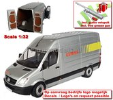 CLAAS-Zilver-Ed.-Mercedes-Benz-Sprinter-+-FREE-GIFT-1:32--MM1905-03-01---LAST-ONES