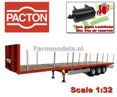 RED-PACTON-Flatbed-Trailer-+-FREE-GIFT-1:32-Marge-Models---MM1901-01