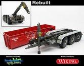 Rebuilt-Krampe-Haakarm-carrier-THL-30-L-met-MICHELIN-XS-BANDEN-+-afzetcontainer-1:32--WK77826-R