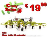 Claas-Volto-60-6-rotor-gras--hooi-schudder-MarGe-models--1:32--MM1701-SUPER-SALE