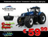 New-Holland-T8.435-BLUE-Vredestein-Marge-Models-1:32-SUPER-SALE-LAST-ONES