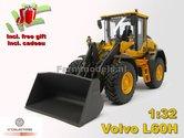 Volvo-L60H-Shovel-Michelin-banden-+-FREE-GIFT-+-Volvo-VAB-STD-snelwissel-+-bak--1:32--AT3200120
