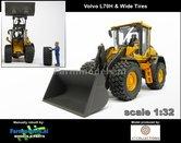 Rebuilt:-Volvo-L90H-Shovel-BREDE-BANDEN-+-Volvo-VAB-STD-snelwissel-+-bak--1:32--AT3200120-R