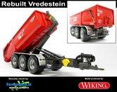 Rebuilt-Krampe-Haakarm-carrier-THL-30-L-met-VREDESTEIN-FLOTATION-710-BANDEN-+-afzetcontainer-1:32--WK77826-R