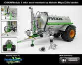 Rebuilt-Joskin-Modulo-2-+-Michelin-Mega-Bibx-1050-banden-&-aluminium-velgen-Joskin-Geel-1:32--UH2869-R