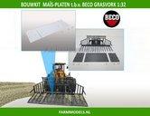 BECO-Maïsplaten-set-t.b.v.-BECO-Grasvork-Bouwkit1:32