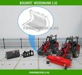 Puinriek-bakje-BOUWKIT-t.b.v.-snelwissel-set-nr.-50300-50325-Mini-shovel-(Weidemann-Siku)-1:32