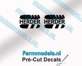 2x-HERDER-Logo-stickers-5-mm-hoog-Pré-Cut-Decals-1:32-Farmmodels.nl