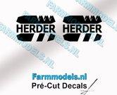 2x-HERDER-Logo-stickers-8-mm-hoog-Pré-Cut-Decals-1:32-Farmmodels.nl