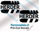 2x-HERDER-Logo-stickers-16-mm-hoog-Pré-Cut-Decals-1:32-Farmmodels.nl