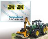 2x-HERDER-Logo-ZWART-OP-GEEL-stickers-5-mm-hoog-Pré-Cut-Decals-1:32-Farmmodels.nl