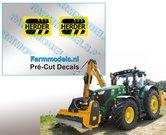 2x-HERDER-Logo-ZWART-OP-GEEL-stickers-6-mm-hoog-Pré-Cut-Decals-1:32-Farmmodels.nl