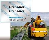 2x-Grenadier-Dik-gedrukt-(Herder)-stickers-5-mm-hoog-Pré-Cut-Decals-1:32-Farmmodels.nl