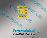 LONG-VIHICLE-PAS-OP!!-ZWENKT-UIT-DAMES-OPGEPAST-set-stickers-Pré-Cut-Decals-1:32-Farmmodels.nl