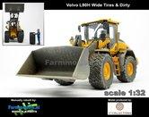 Rebuilt-&-Dirty:-Volvo-L90H-Shovel-BREDE-BANDEN-&-STOFLOOK-+-VAB-STD-snelwissel-+-bak--1:32----AT3200120-RD