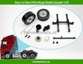 Stuuras-+-Super-Single-banden-Ø-33.2-mm-+-eindkappen-&-as-ophanging-etc.-Volvo-FH16-MarGe-Models-BOUWKIT-1:32
