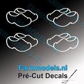 4x-afb.-Klompjes-open-WIT-op-transparante-stickers-8-mm-hoog-Pré-Cut-Decals-1:32-Farmmodels.nl