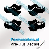 4x-afb.-Klompjes-dicht-ZWART-op-transparante-stickers-5-mm-hoog-Pré-Cut-Decals-1:32-Farmmodels.nl