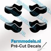 4x-afb.-Klompjes-dicht-ZWART-op-transparante-stickers-7-mm-hoog-Pré-Cut-Decals-1:32-Farmmodels.nl