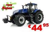 New-Holland-T8.435-BLUE-POWER-Met-TRELLEBORG-banden-zeer-gedetaileerd-model-Marge-Models-1:32