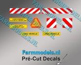Verkeer-set-diverse-stickers-Pré-Cut-Decals-1:32-Farmmodels.nl