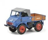 Unimog-U401-Blauw-Resin-1:32---SCH9003