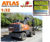 Atlas-160W-mobiele-kraan-+-MITAS-banden-+-Atlas-bak-+-GRATIS-stickerset--1:32--AT3200151--EXPECTED-Juli--August-2019