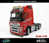 Rebuilt-25-YEAR-edition-RED-3-Axle-Volvo-FH16-1:32---MM1811-03-R